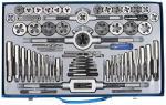Набор плашек и метчиков в металлическом боксе Зубр 28118-H65
